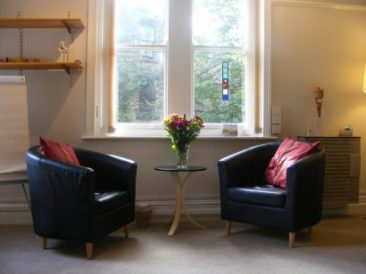 Counselling room at Riverside Wellbeing